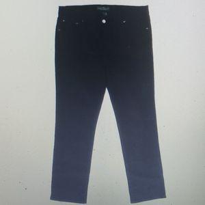 Ralph Lauren Jean's Co. Straight leg Jean's Black